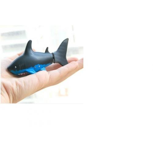 Радиоуправляемая рыбка-акула в банке водонепроницаемая (10 см)