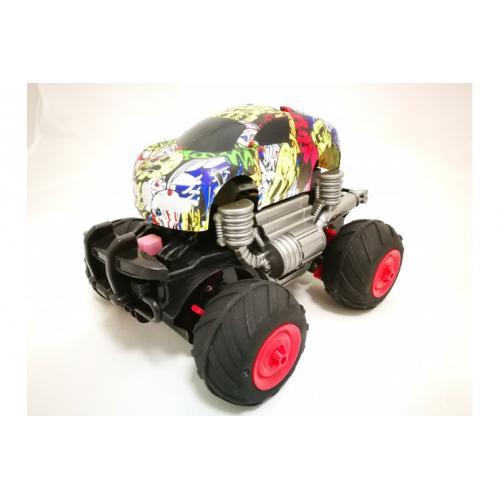 Радиоуправляемая машина амфибия с пневмо колесами CS Toys 888-015
