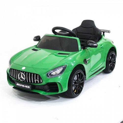Детский электромобиль Mercedes Benz AMG GT R 2.4G Green