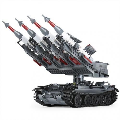 Конструктор Ракетная установка (1753 эл-та)