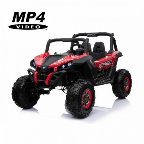 Двухместный полноприводный электромобиль Red Spider UTV-MX Buggy 12V MP4