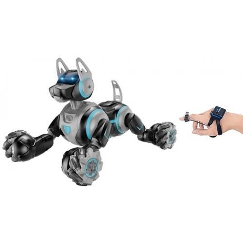 Робот собака-перевертыш, пульт-часы