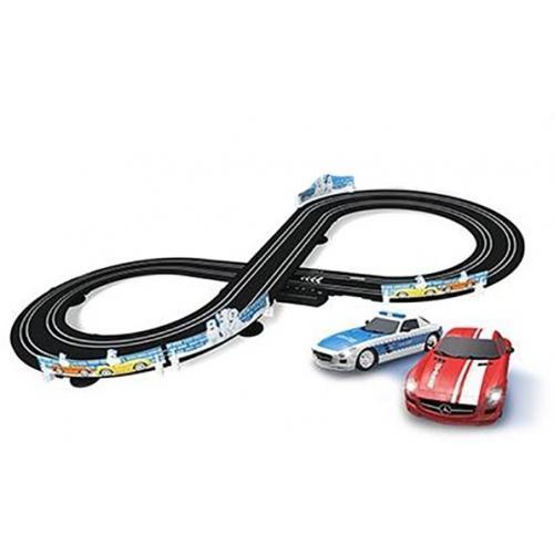 Гоночный трек от сети Mercedes SLS (длина трека 2,5 м, 2 машинки)