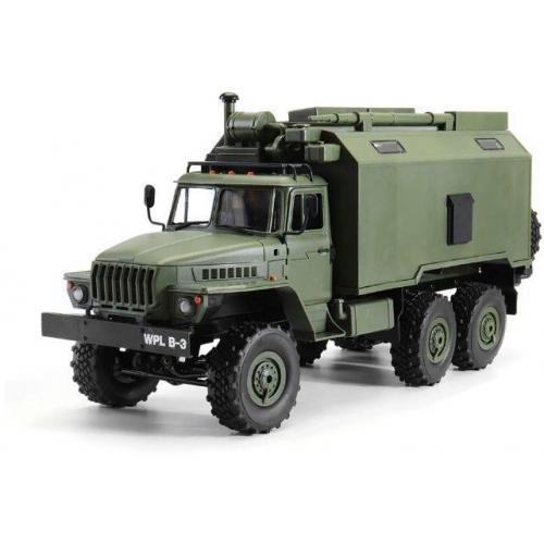 Радиоуправляемый внедорожник WPL Советский военный грузовик Урал 4WD 1:16 2.4G