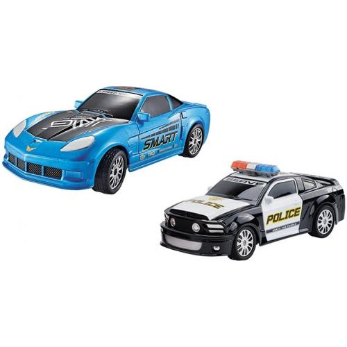 Набор из двух радиоуправляемых машин Police Chase 1:20