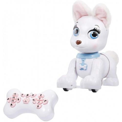 Радиоуправляемая собака-робот Корги (веселые мелодии, сказки)