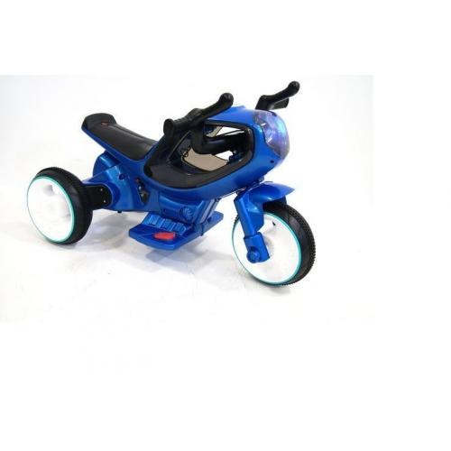 Детский электромотоцикл Jiajia синий