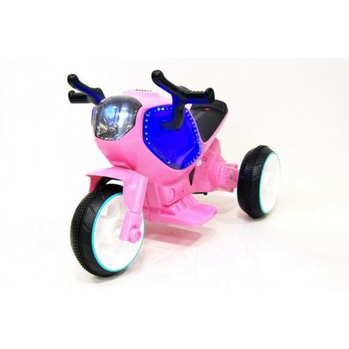 Детский электромотоцикл Jiajia HC-1388-Pink