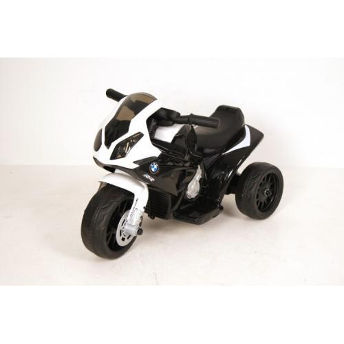 Детский электромотоцикл BMW черный