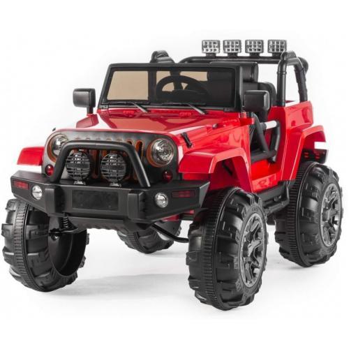 Детский электромобиль Red Jeep 2WD 12V 2.4G - BDM0905