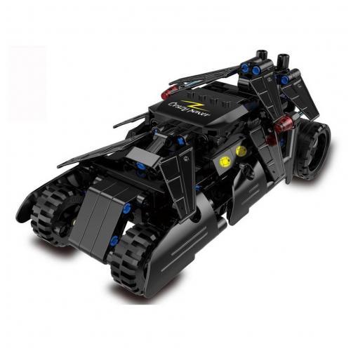 Конструктор бэтмобиль с инерционным механизмом, 212 деталей