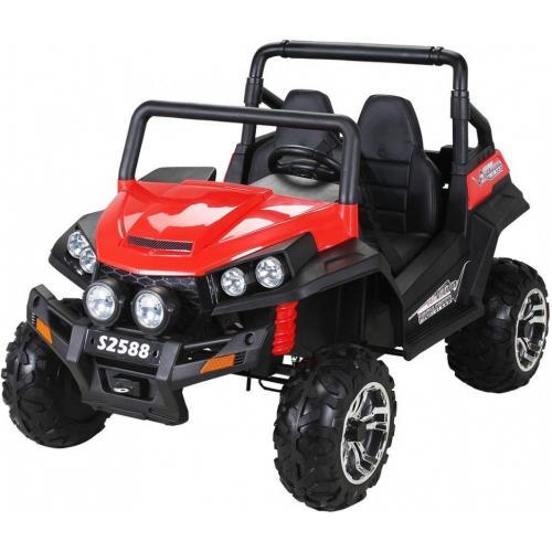 Двухместный полноприводный электромобиль Red Buggy 12V 2.4G