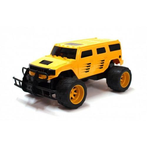 Радиоуправляемый джип Hummer Yellow Double E 1:14 2.4G