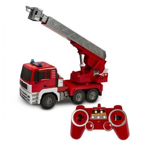 Радиоуправляемая пожарная машина Double E 1:20