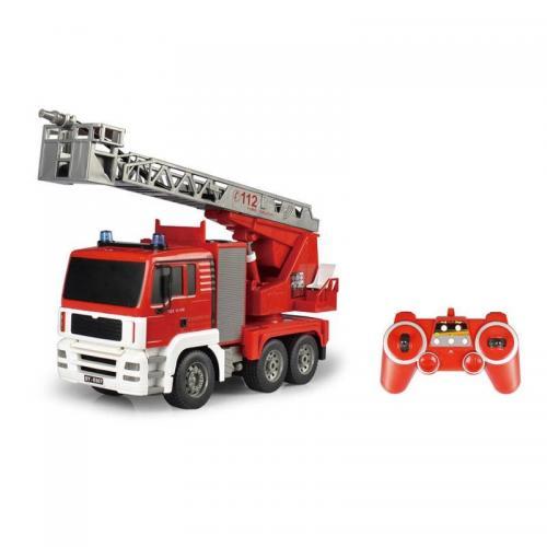 Радиоуправляемая пожарная машина Double E