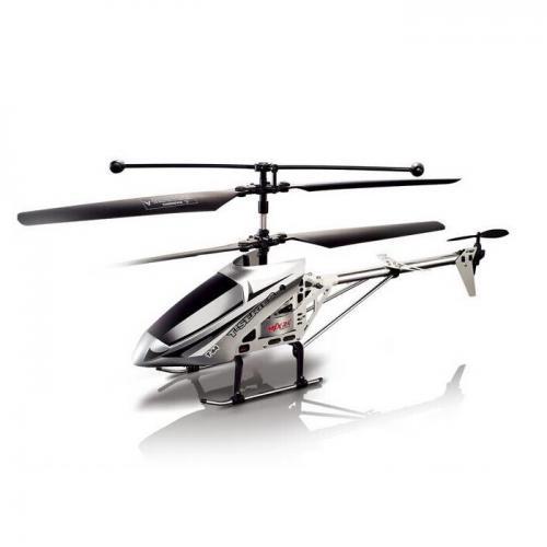 Радиоуправляемый вертолет MJX R/C i-Heli Shuttle серебр.