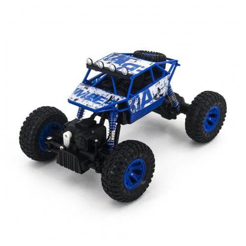 Радиоуправляемый синий краулер Zegan Rock Rover 1:18 2.4G
