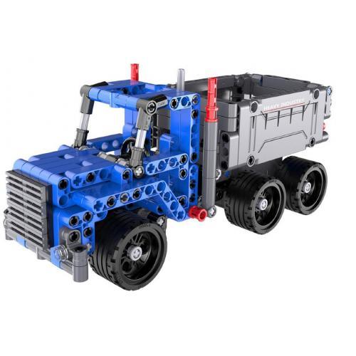 Конструктор Cada Technics грузовик c инерционным механизмом, 301 деталь