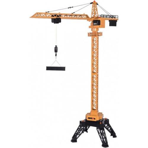 Большой радиоуправляемый башенный кран