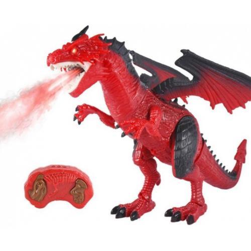 Радиоуправляемый красный дракон (дышит паром) - RS6159A