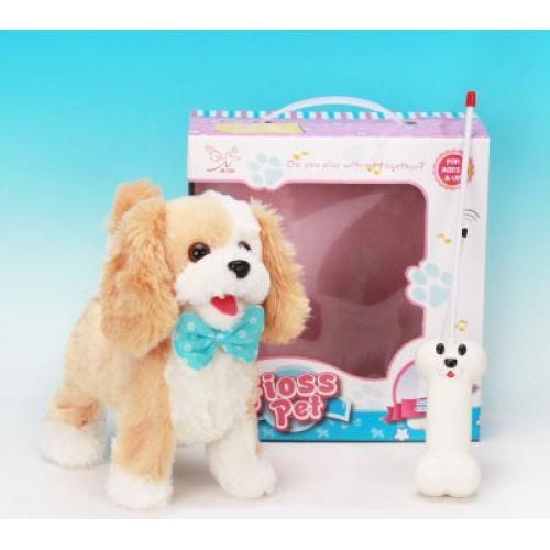Радиоуправляемый Щенок собака для девочек (23 см, звук)