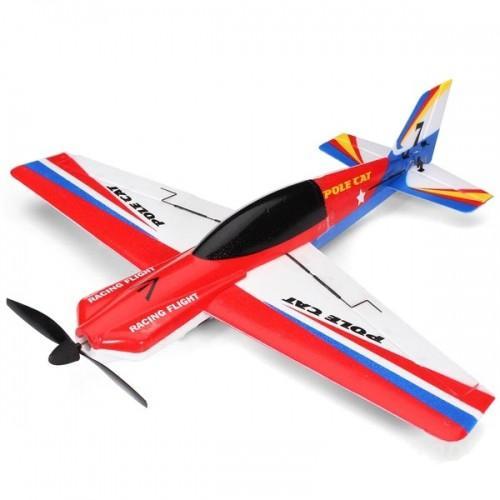 Радиоуправляемый самолет WLtoys Pole Cat 2.4GHz RTF F939 (40 см, 40 км/ч)