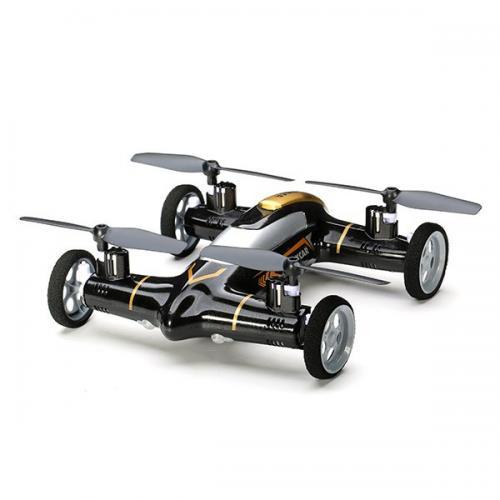 Радиоуправляемый квадрокоптер на колесах Syma Max Flying Car X9 (20 см, свет)