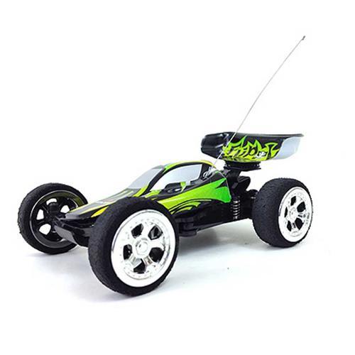 Радиоуправляемая багги WL toys Mini Buggy 1:32 (14 см, до 30 км/ч, турбоускорение, амортизаторы)