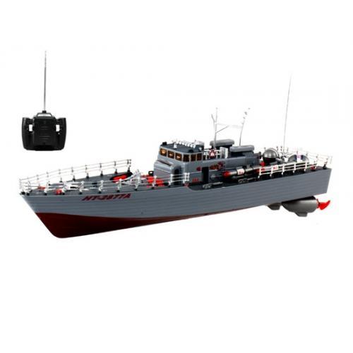 Радиоуправляемый торпедный катер HT-2877 (2 мотора, 54 см)