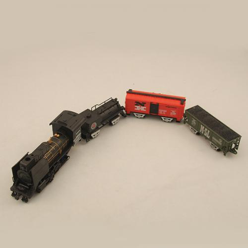 Детская железная дорога 3510 (21 эл-т, свет, звук, на батарейках)