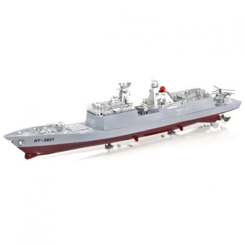 Радиоуправляемый корабль авианосец 3831 коллекционный (2 мотора, 6 км/ч, 72 см)