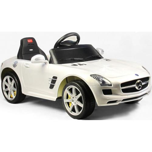 Электромобиль Mercedes-Benz SLS AMG с пультом (4 км/ч, свет фар, до 1,5 часов)