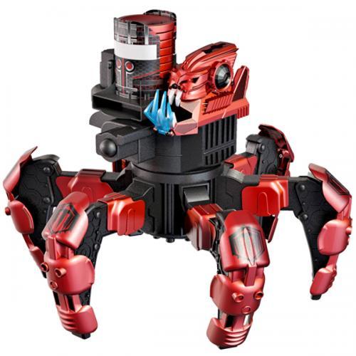 Робот паук радиоуправляемый ДУМ РЕЙЗОР 2,4G (стреляет, свет, звук, 25 см, до 90 метров)