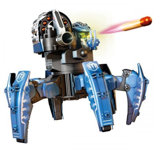 Робот паук радиоуправляемый СТРАЙДЕР 2,4G (стреляет, свет, звук, 25 см, до 90 метров)