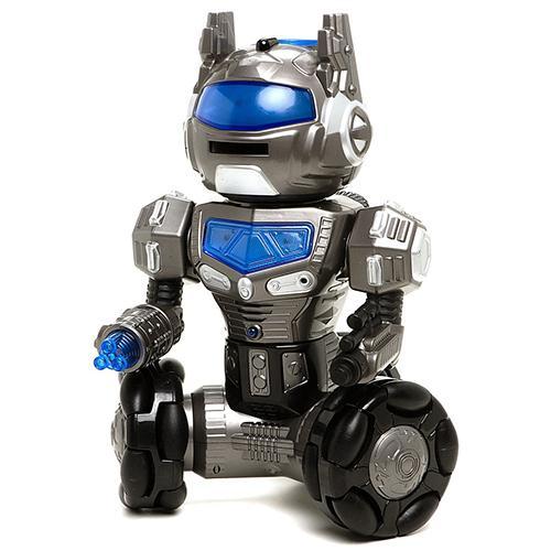 Интерактивный робот LINK (свет, звук, танцует, поет, стреляет, управление голосом и с пульта, 40 см)