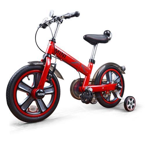 """Детский велосипед 14"""" двухколесный (красный, от 3 лет, 96 см, звонок, лицензия BMW)"""