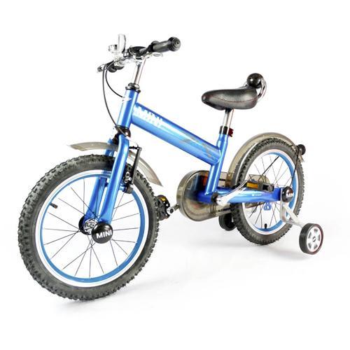 """Велосипед детский двухколесный 16"""" (синий, от 4 лет, 110 см, звонок, лицензия BMW)"""