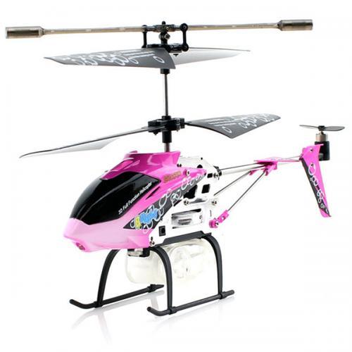 Вертолет радиоуправляемый Syma стреляет мыльными пузырями (GYRO, до 30 м, 20 см, защита)