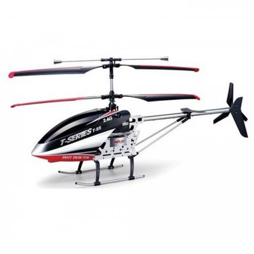 Радиоуправляемый вертолет MJX T55c/T655 2.4G с ВИДЕОКАМЕРОЙ (LCD, 64 см)