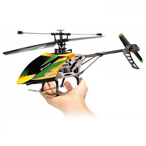 Вертолет на радиоуправлении WLtoys Sky Dancer 2.4G (4 канала, 46 см, 3 режима)
