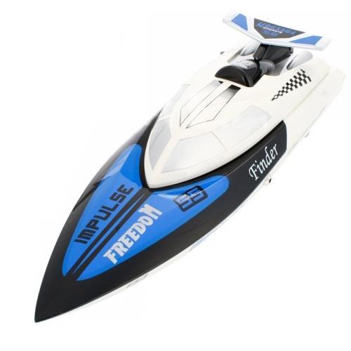Радиоуправляемый катер Tiger-Shark 2.4G WL912 PRO (коллектор, 35 км/ч, 38 см)