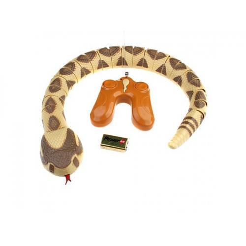 Змея радиоуправляемая (двигается язык, 73 см)