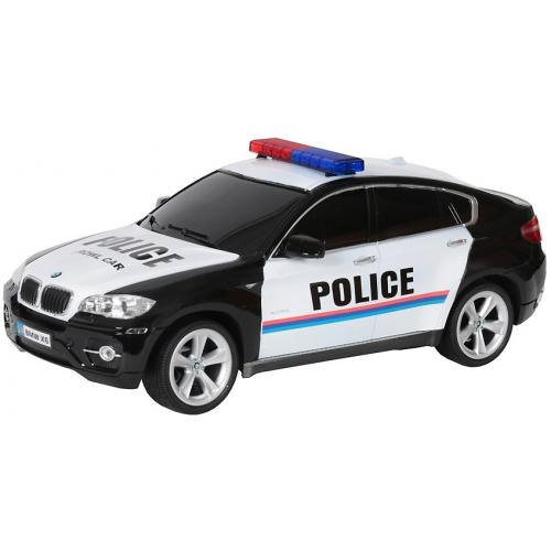 Радиоуправляемая машина BMW X6 POLICE 1:14
