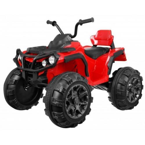 Детский квадроцикл Grizzly ATV 4WD Red 12V с пультом управления