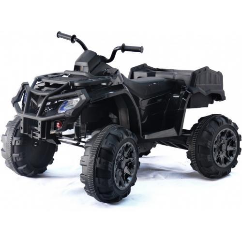 Детский квадроцикл Grizzly Next Black 4WD с пультом управления 2.4G