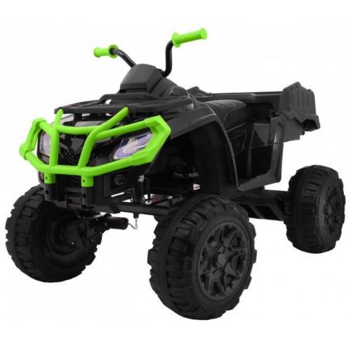 Детский квадроцикл Grizzly Next Green/Black 4WD с пультом управления 2.4G
