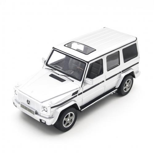 Радиоуправляемая машина Rastar Mercedes Silver G55 AMG 1:14 (33 см)