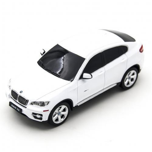 Радиоуправляемая машина Rastar BMW X6 White 1:24