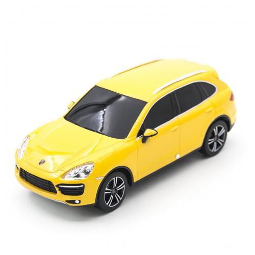 Радиоуправляемая машина Porsche Cayenne Yellow 1:24
