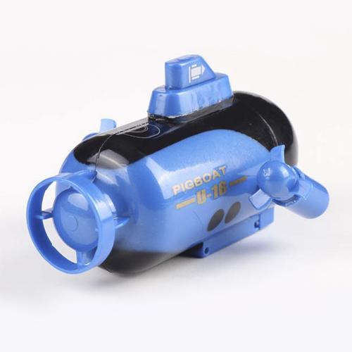 Радиоуправляемая мини-подводная лодка (яркие светодиоды, аккумулятор, 10 см)